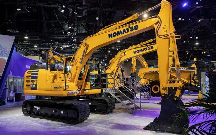 pc130-11 komatsu excavator