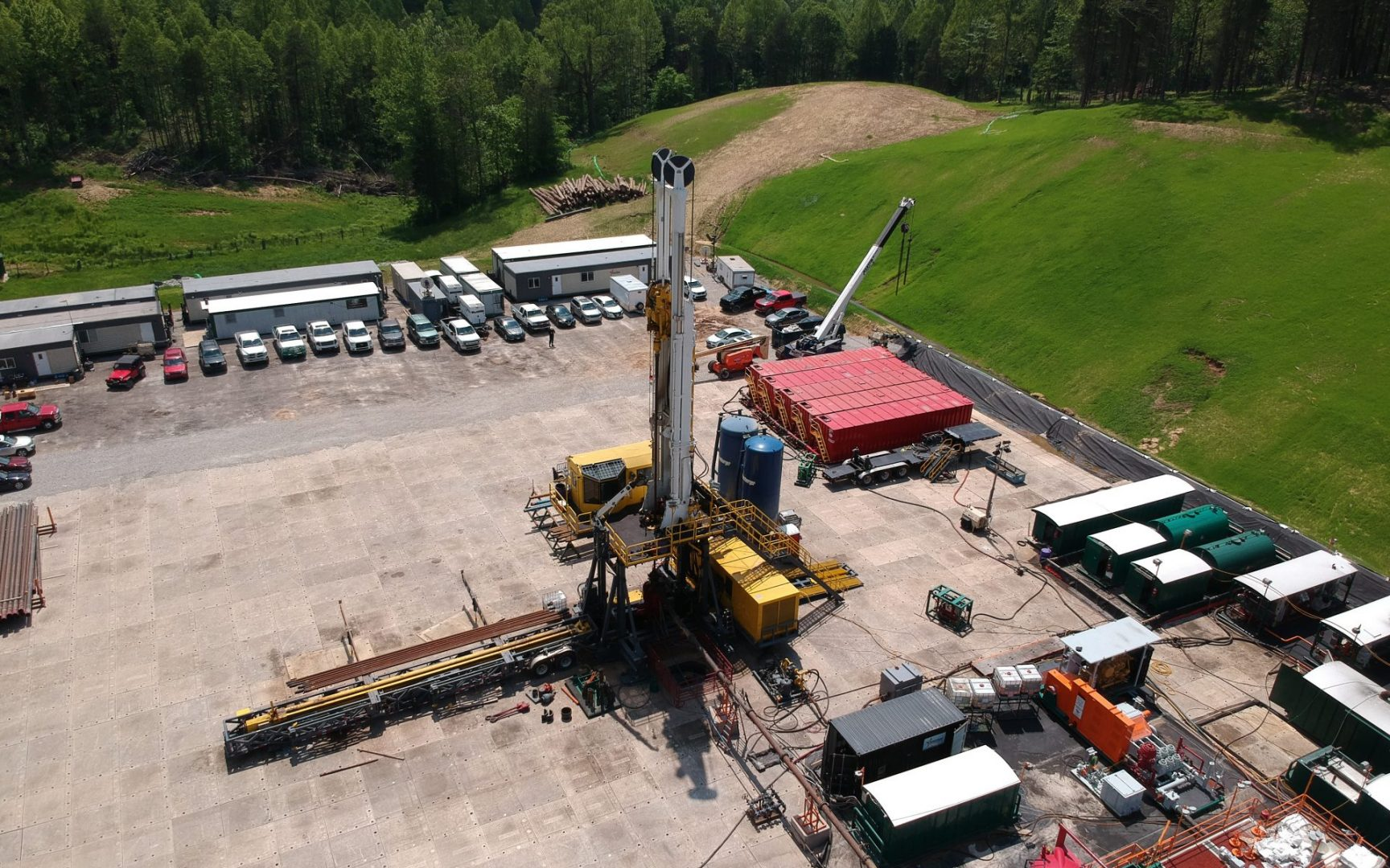 DH350 oil and gas drilling rig