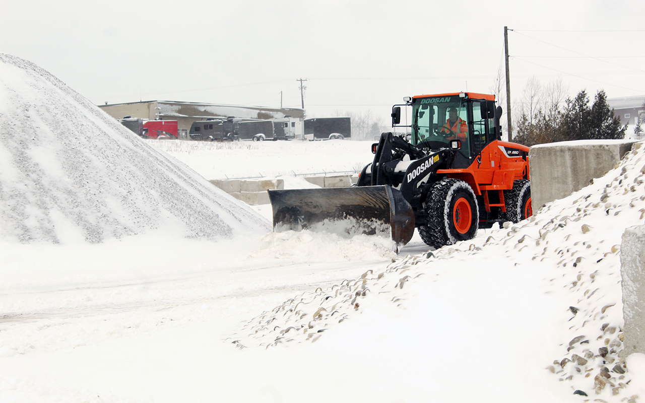 winter snow removal