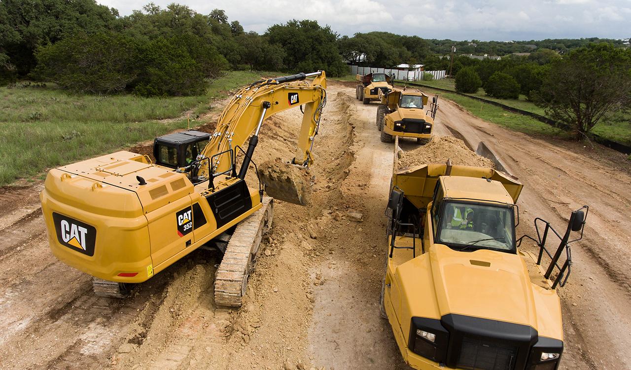 352 excavator