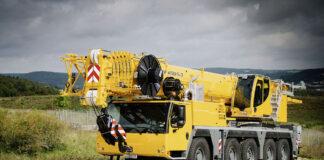 liebherr LTM crane