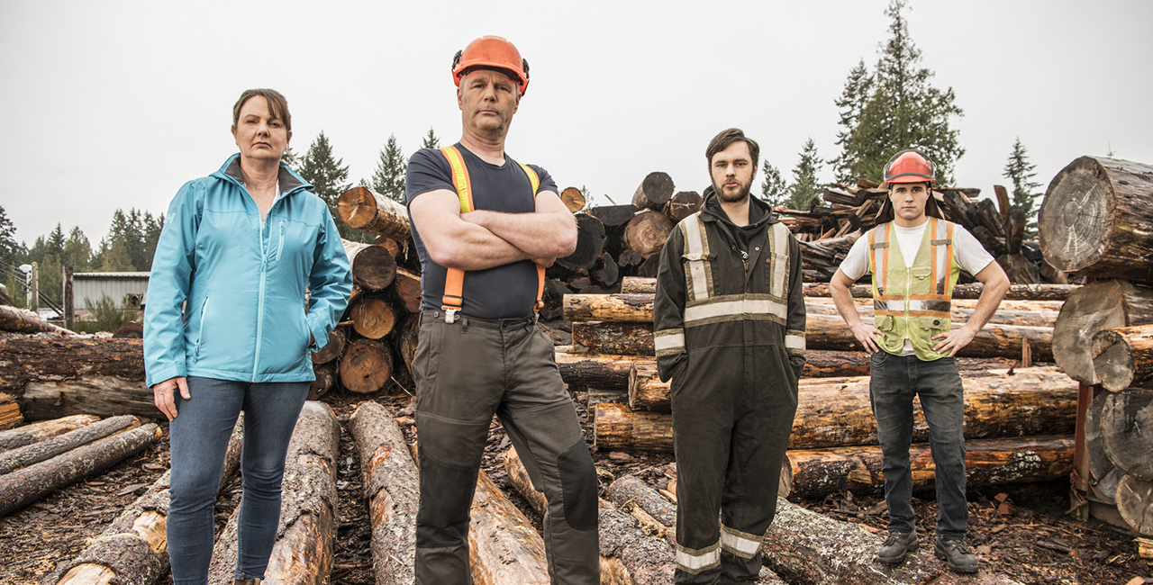 history channel big timber