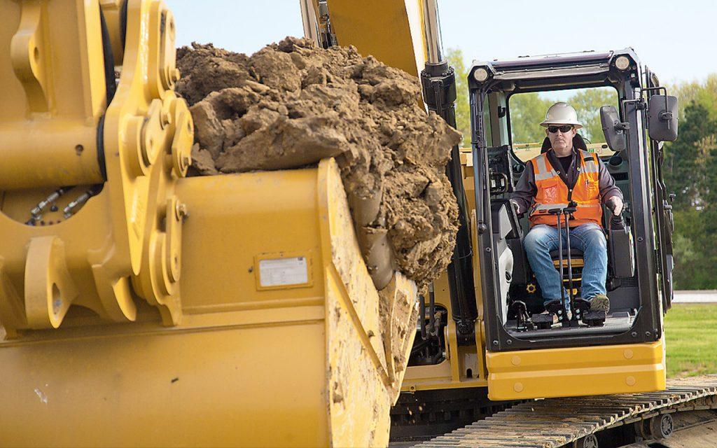 35 ton excavator