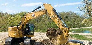 Caterpillar 335 excavator