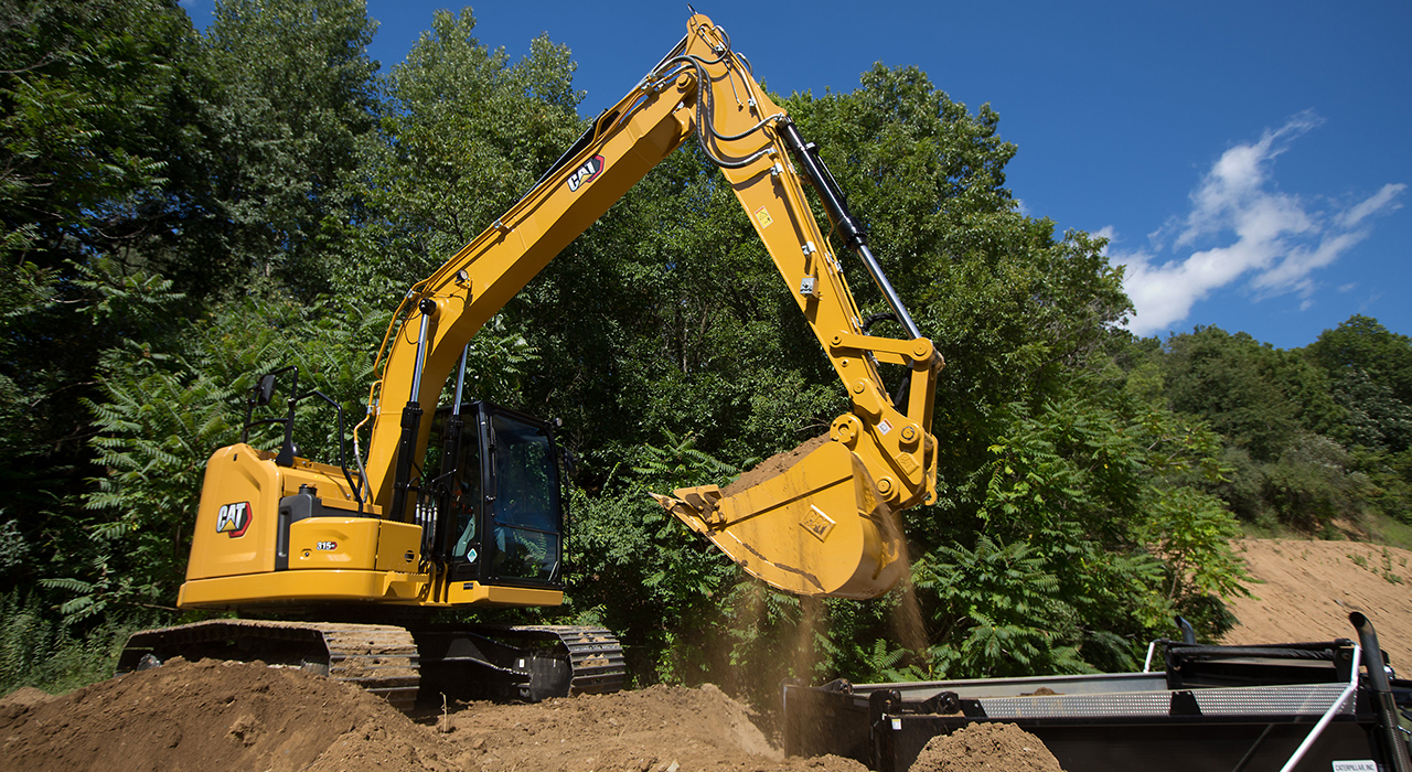 Caterpillar 315 GC excavator