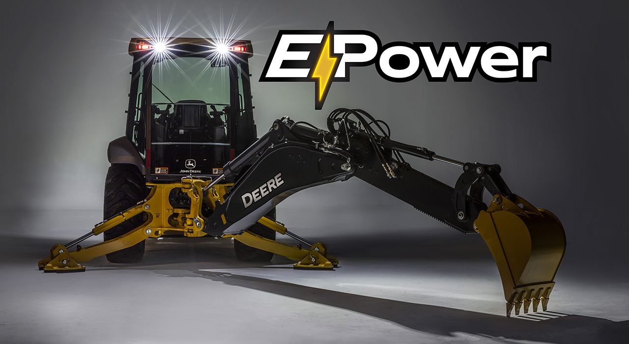 electric backhoe