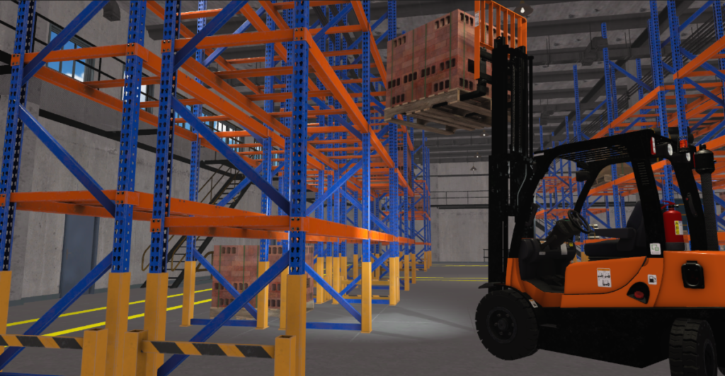 Montreal's CM Labs expands their Forklift Simulator Training Pack