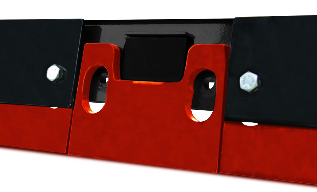Product photo of AMI FluidEdge segments—showing the fastening system.